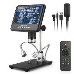 Andonstar AD207 3D Dijital Mikroskop Telefon / PCB / SMD Lehimleme Onarım Görüntü Döndürme Fonksiyonu